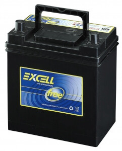 Bateria Excell Free 12v 40Ah EXF40JD