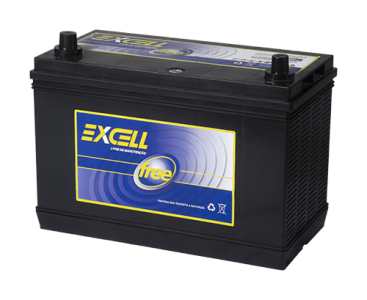 Bateria Excell Free 12v 105Ah EXF105LE